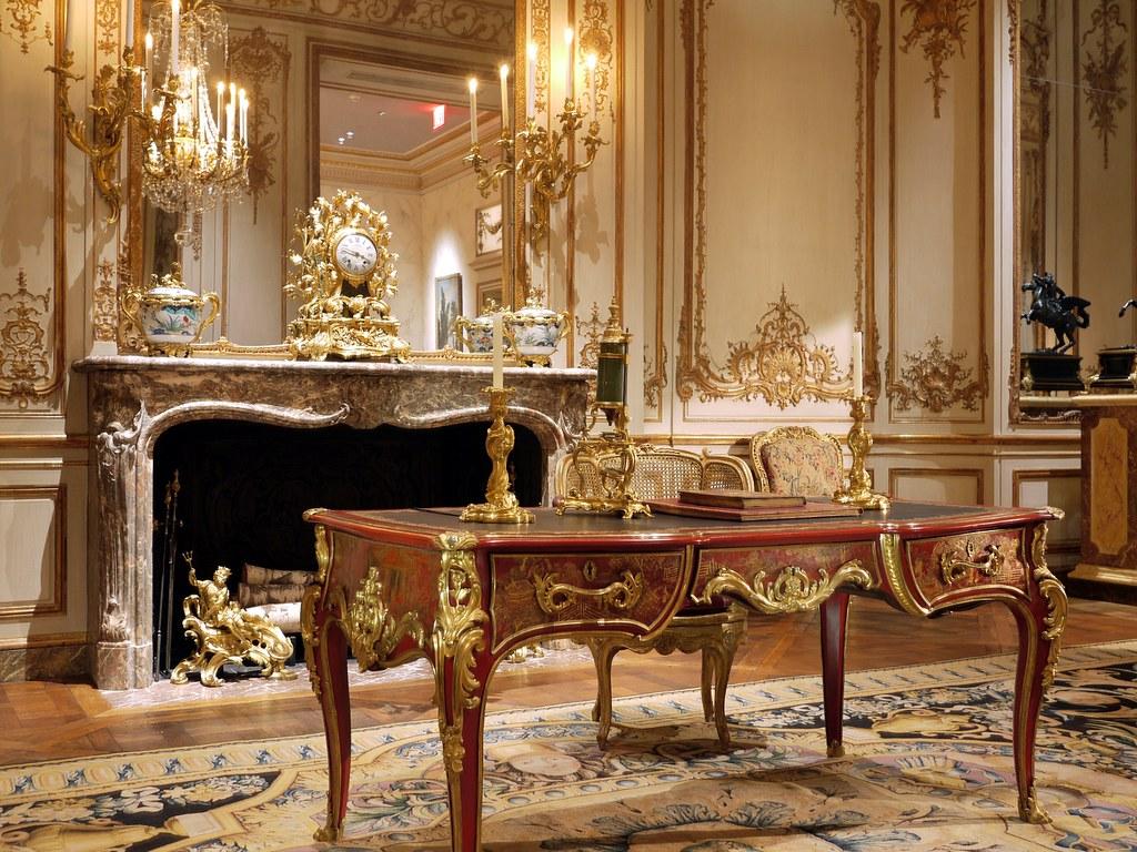 Recreated Louis XV interior, Metropolitan Museum | Fabulous … | Flickr