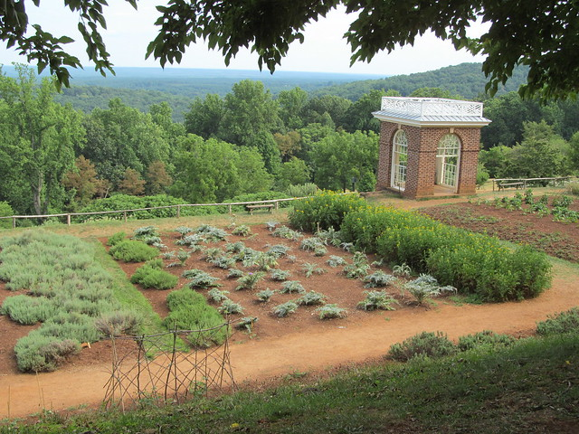 Monticello Gardens By Flickr Photo