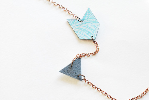 Felt Arrow Necklace | by wildolive