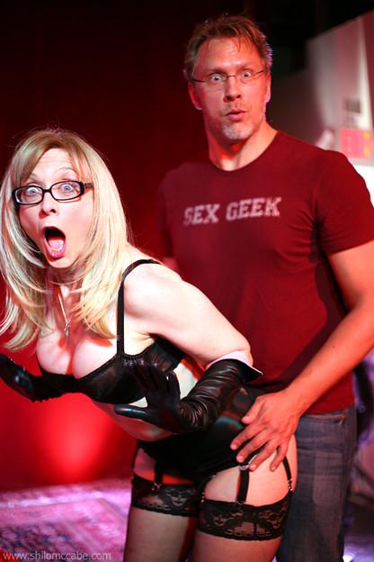 reid mihalko  u0026 nina hartley  sexy circus photo shoot