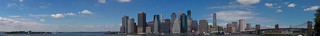 NYC Skyline panorama | by hudson
