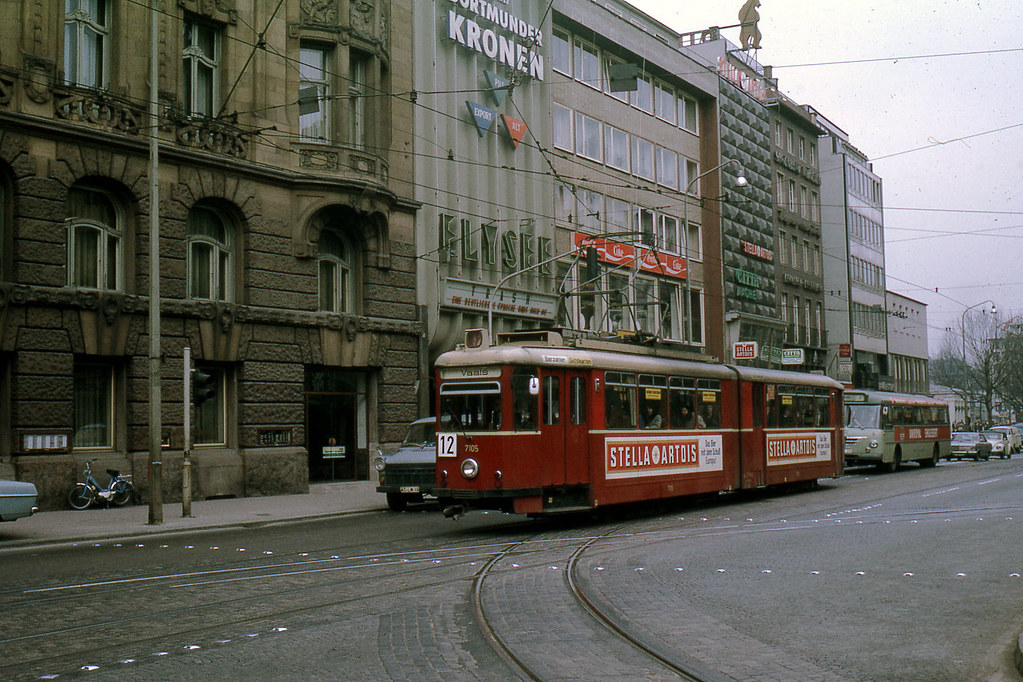 JHM-1971-0052 - Allemagne, Aachen, tramway