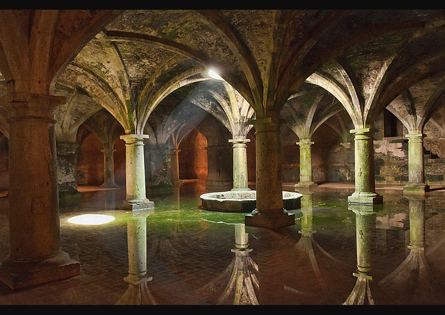 The Old Portuguese Water Cistern In El Jadida Morocco