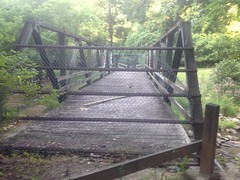 Closed Bridge Near Cochran Mill Falls