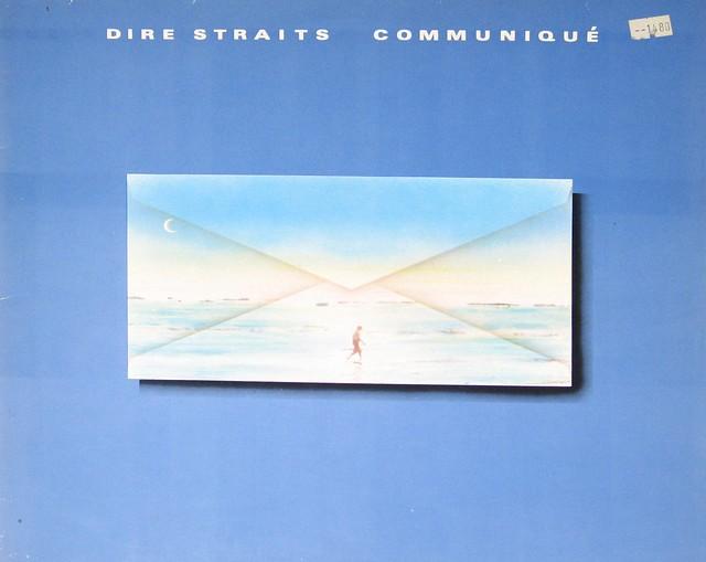 """Dire Straits - Communique Club Edition 12"""" Vinyl LP"""