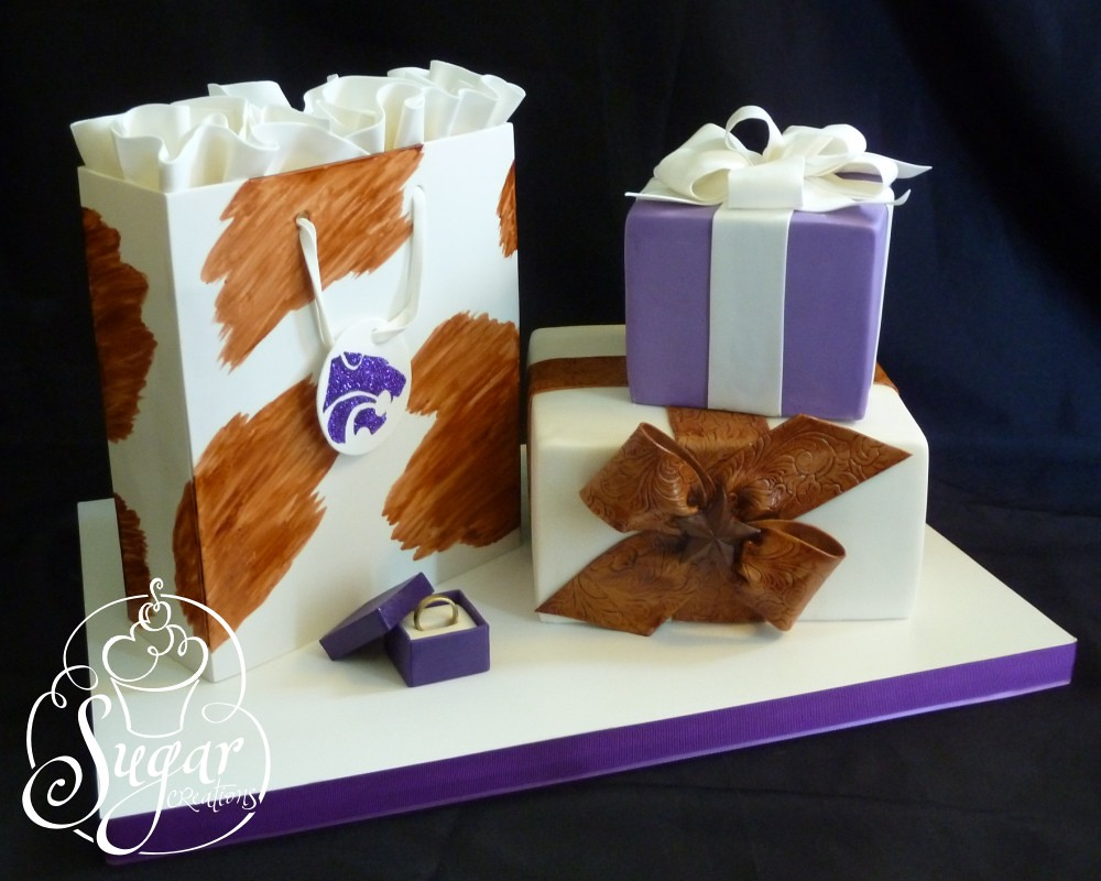 rebeccasutterby western bridal shower cake by rebeccasutterby
