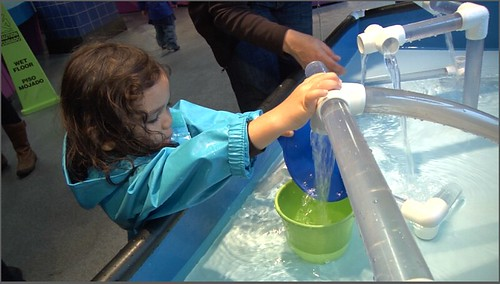 Chicago Children's Museum Water Play Area Kids | by FamilyTravelCK