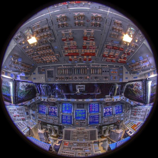 space shuttle endeavour simulator ride - photo #16