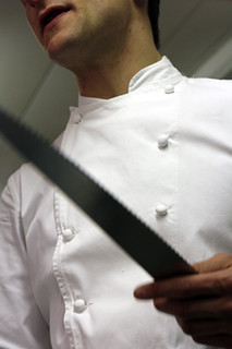 chef and knife | by David Lebovitz