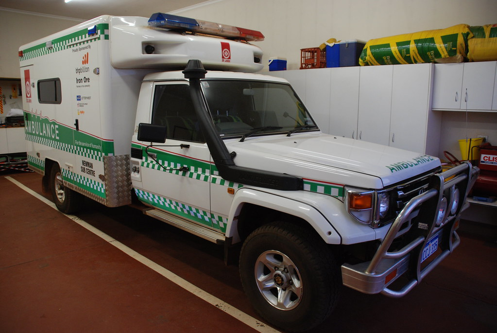 Western Australia Toyota Landcruiser Ambulance St John