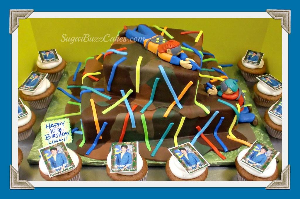 Laser Tag Camo Birthday Cake Carol Flickr