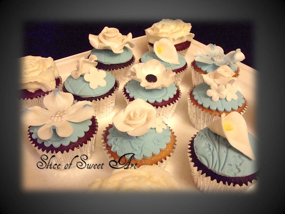 Bridal Shower Cupcakes | Floral Cupcakes Like us on Facebook… | Flickr