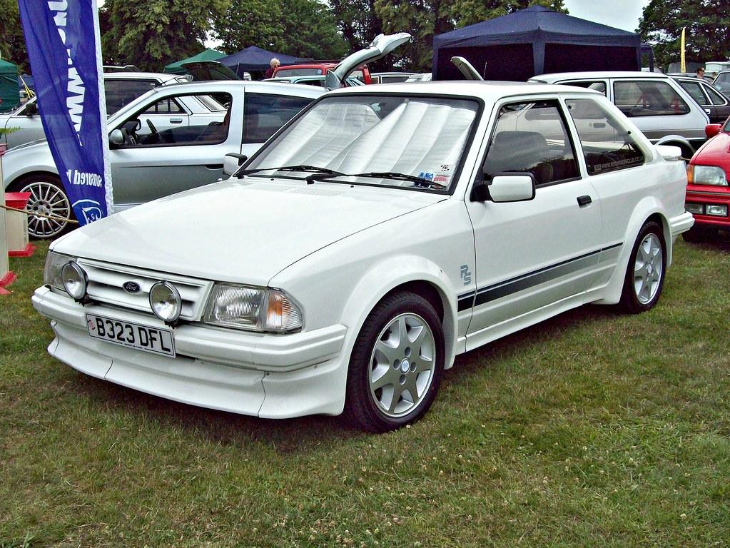 39 ford escort 3rd gen rs turbo 1985 ford escort 3rd flickr. Black Bedroom Furniture Sets. Home Design Ideas