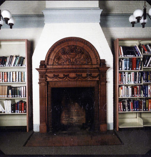 Two Terra Cotta Fireplaces | by Watertown Free Public Library (MA)