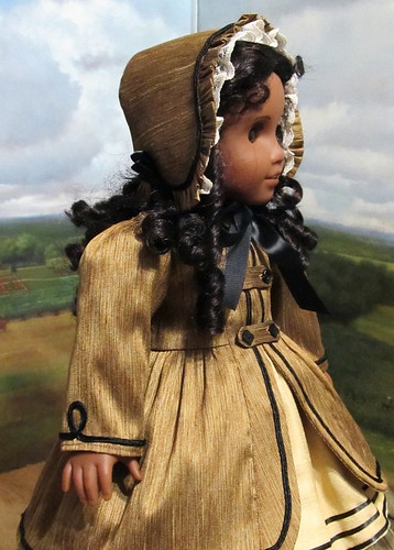 1850's Silk Coat and Bonnet made for Cecile or Marie-Grace | by Keepersdollyduds