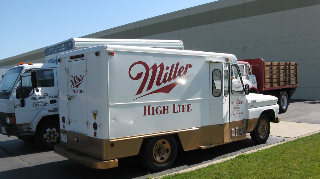 Miller High Life Beer 1965 Chevrolet 30 Picnic Truck With
