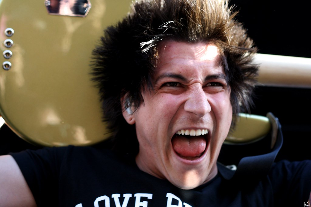 Jaime Preciado | Pierce The Veil Vans Warped Tour 2012 ...