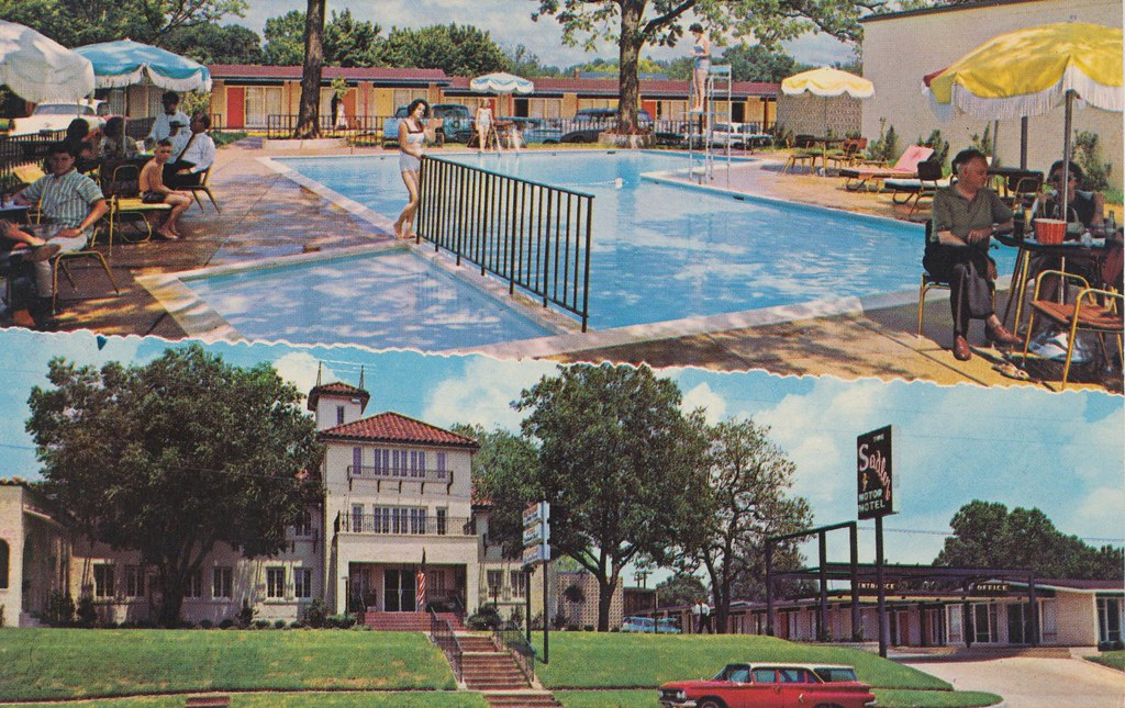 Sadler Motor Hotel - Palestine, Texas