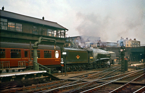 A4 60028 Walter K Whigham dep. Kings Cross 1962. | by David Christie 14