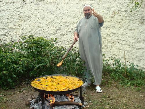 paella au feu de bois ppoupoune Flickr # Paella Feu De Bois
