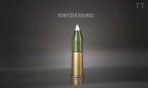 Howitzer projectiles for BA MAAWS cartridge case | by Tiny Tactical