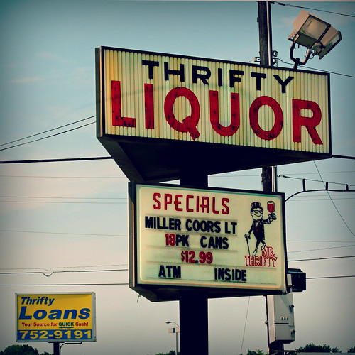 Thrifty Liquor | by Studio d'Xavier