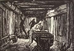 Albert abramovitz the wagonette moscow subway 1935