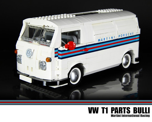 Lego Vw T1 Parts Bulli Martini International Racing Flickr