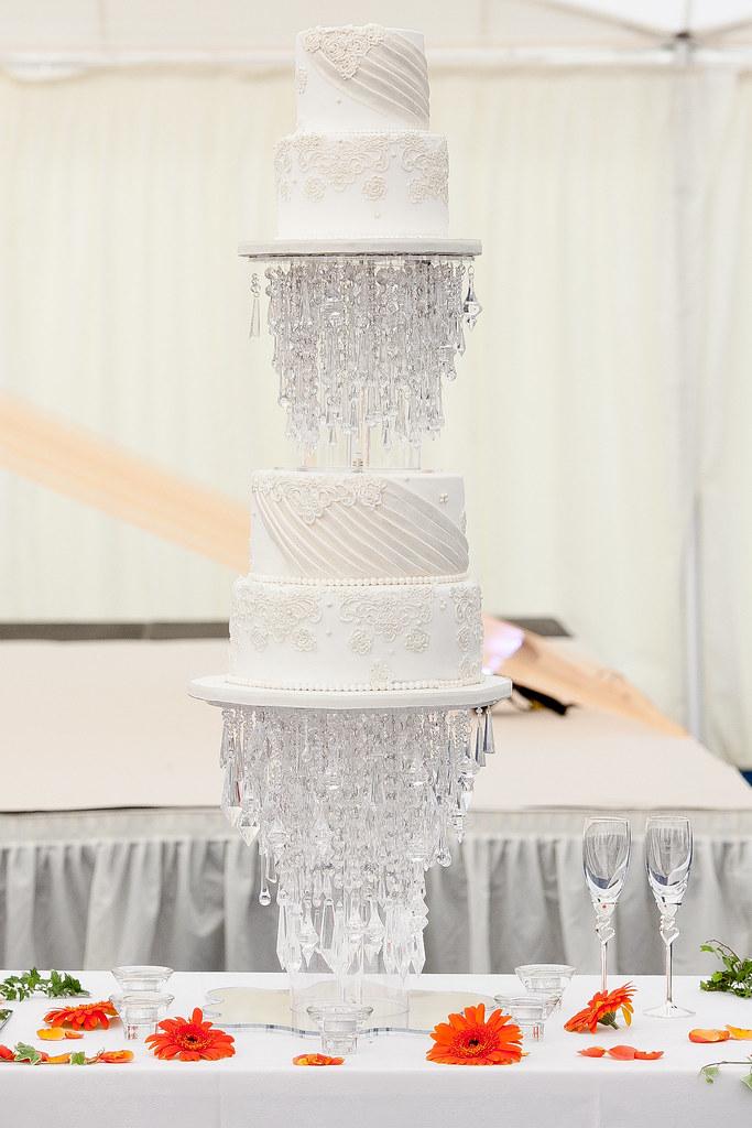 Upside Down Wedding Cake Stand