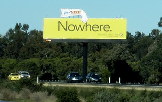 Billboard on the road south | by Daniel Bowen