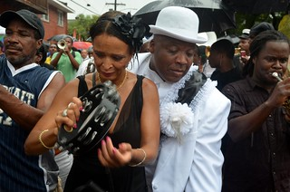 Uncle Lionel Batiste's Jazz Funeral Second Line on Friday, July 20, 2012 | by Offbeat Magazine