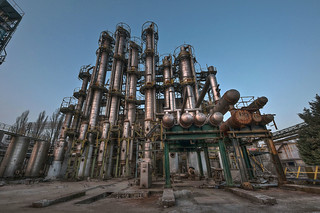 Pipework at Dusk | by BruceMontana