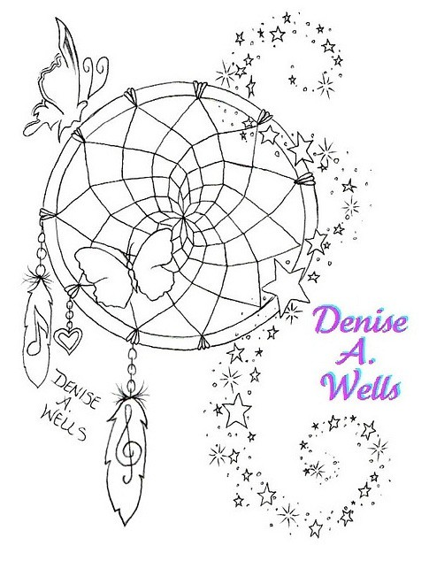 A Design Dream: Dreamcatcher Tattoo Design By Denise A. Wells
