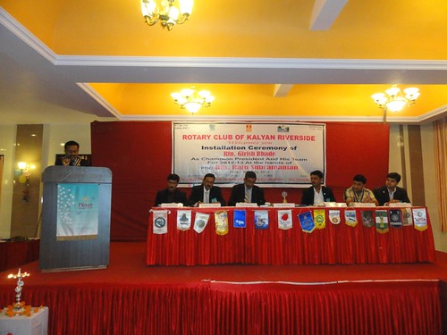 President 2011-12 Bhadresh Shah, his last speech as club President | by Dinesh Pandya