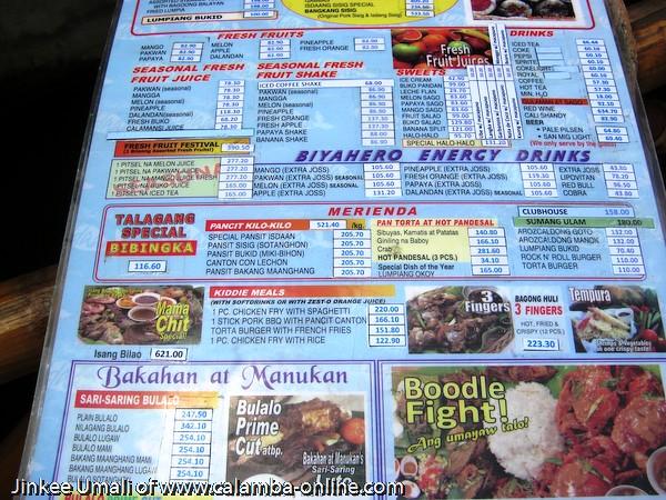 Lagnaa Restaurant Menu