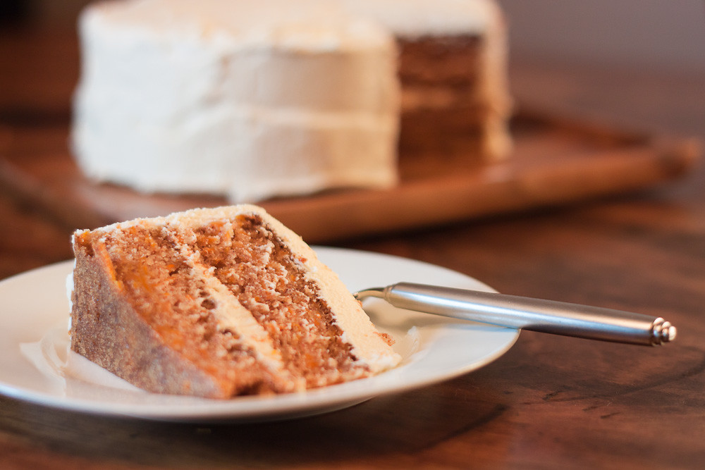 Carrot Cake Piece Calories
