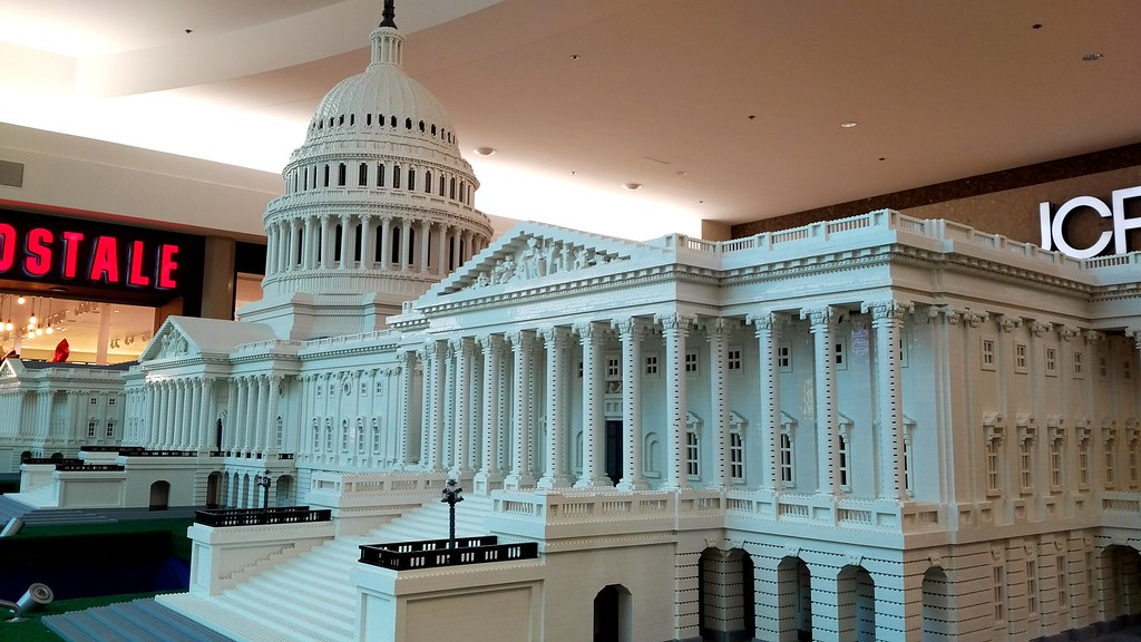 The Capital Building made of Legos at Baybrook Mall in Web…   Flickr