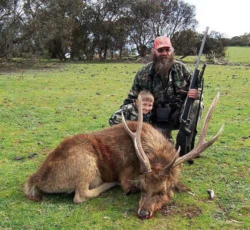 Rusa hunting
