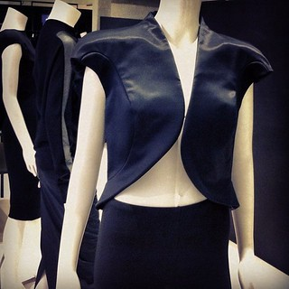 Heard that Univers was starting to stock Paco Rabanne, so went to check the pieces out. The construction of this cropped sculptural jacket is amazing. | by DClektrik