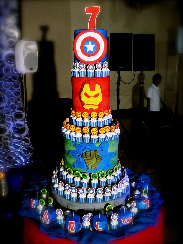 Avengers Cake Cjane Pdc Flickr