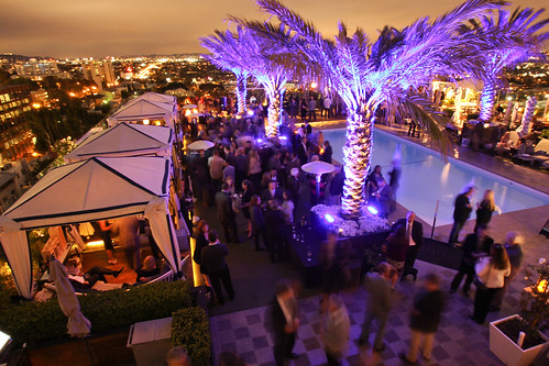 Jordan Vineyard & Winery 40th Anniversary Celebration, held on The London Hotel rooftop in West Hollywood, California, USA on Monday, April 23, 2012 | by jordanwinery.com