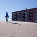 Skateboard Girl on Rockaway Beach - Queens, NYC
