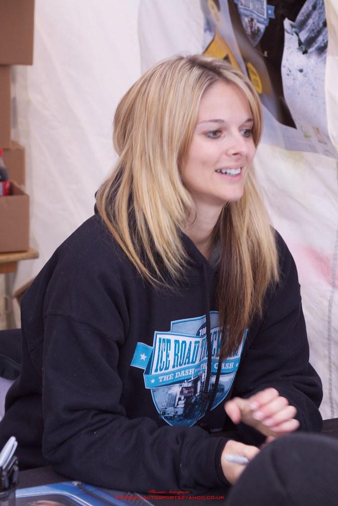 Lisa Kelly Ice road trucker   Lisa kelly, Lisa kelly