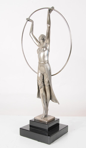 Bronze Art Deco Hoop Dancer by Chiparus www.canonburyantiques (2) | by canonburyantiques