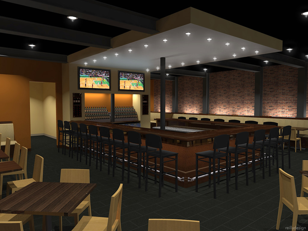 Restaurant concept 3 early design concepts for a new 3 sto flickr - Home decor designers concept ...