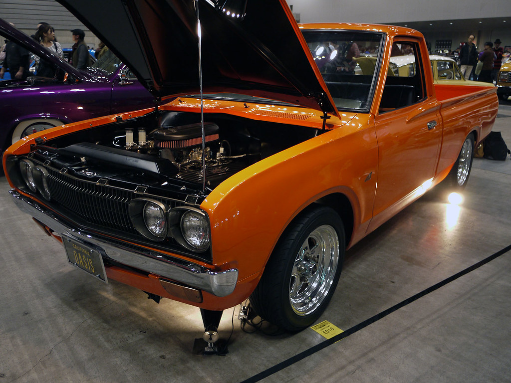 Nissan Datsun  620 Truck V8 Motor