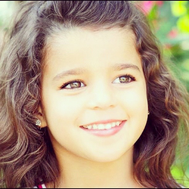 Beautiful brown-eyed baby girl | My cousin, adriana ...