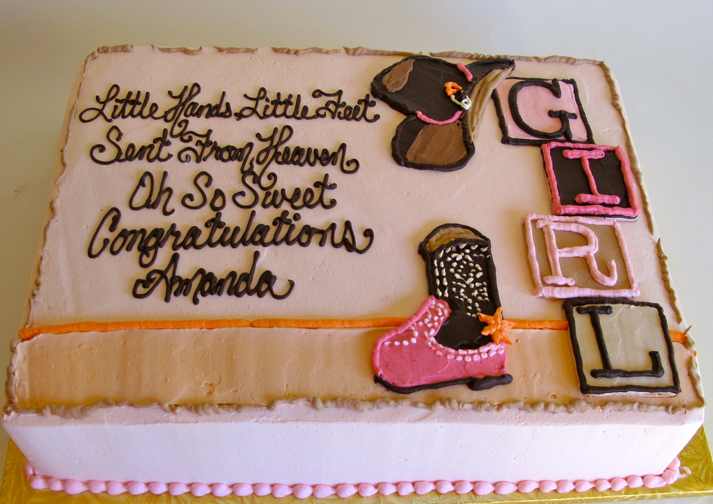 Cowgirl Cake Decorations