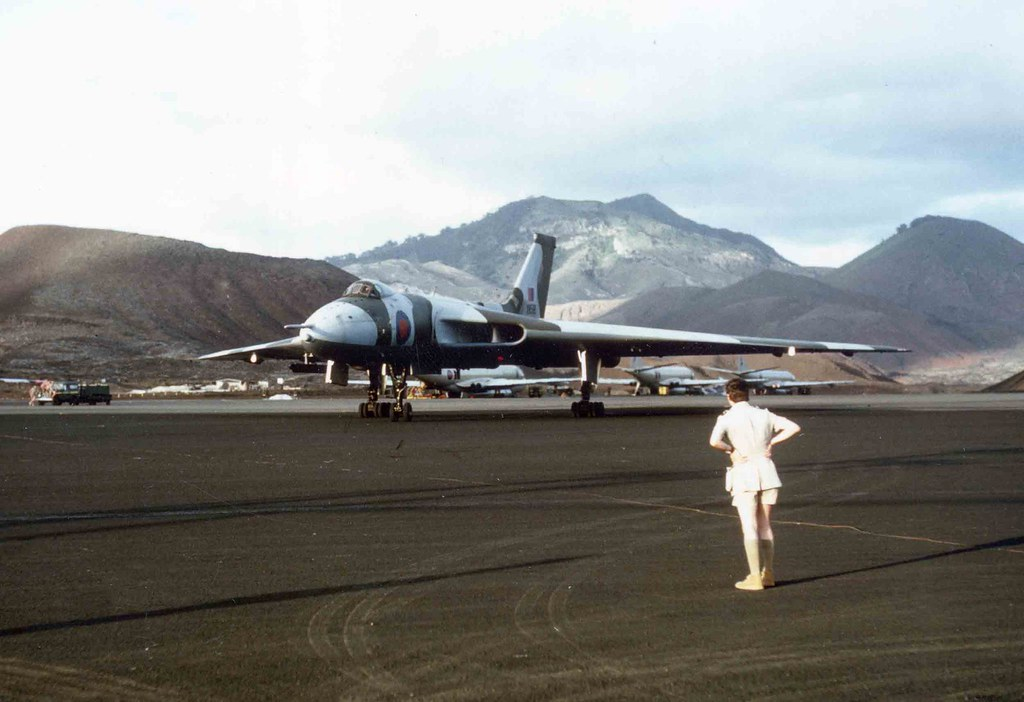Vulcan Ascension Island Preparing To Attack The