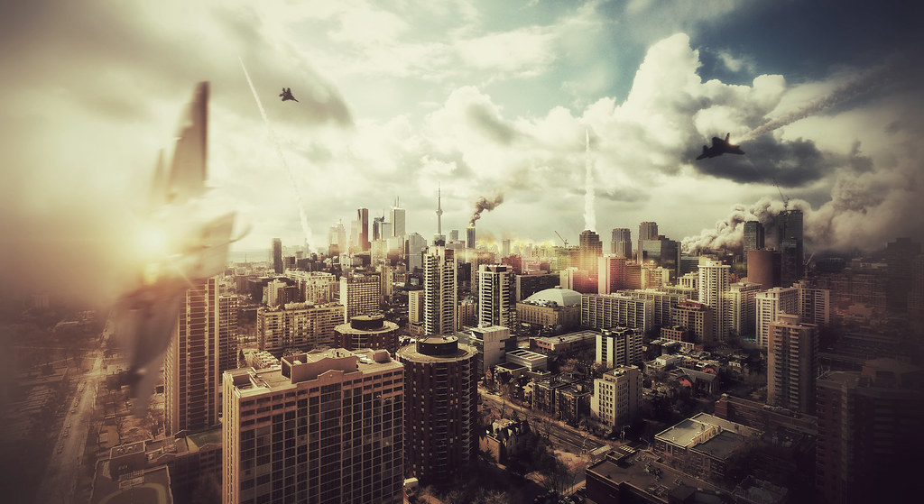 Toronto Under Attack An Image I Made For Spacing